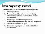 interagency cont d2