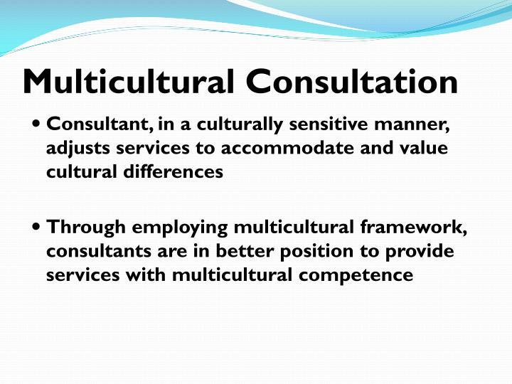 Multicultural Consultation