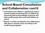 school based consultation and collaboration cont d1