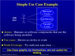 simple use case example