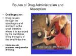 routes of drug administration and absorption3