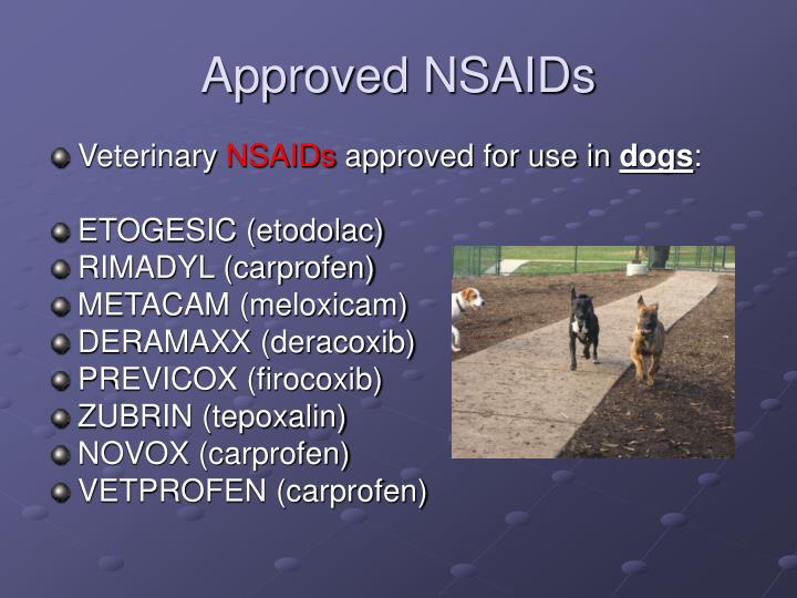 Approved NSAIDs