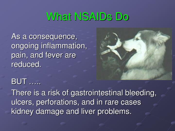 What NSAIDs Do
