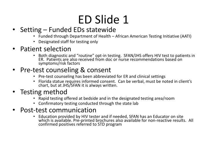ED Slide 1