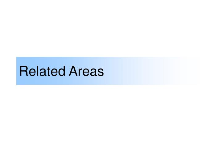 Related Areas