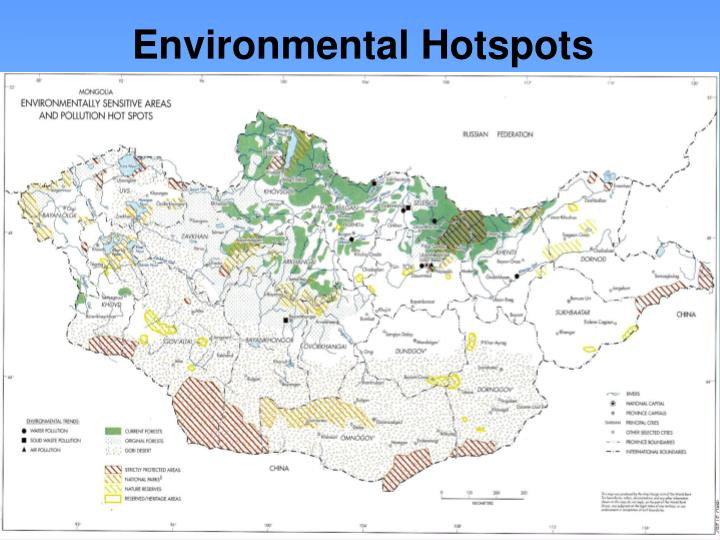 Environmental Hotspots