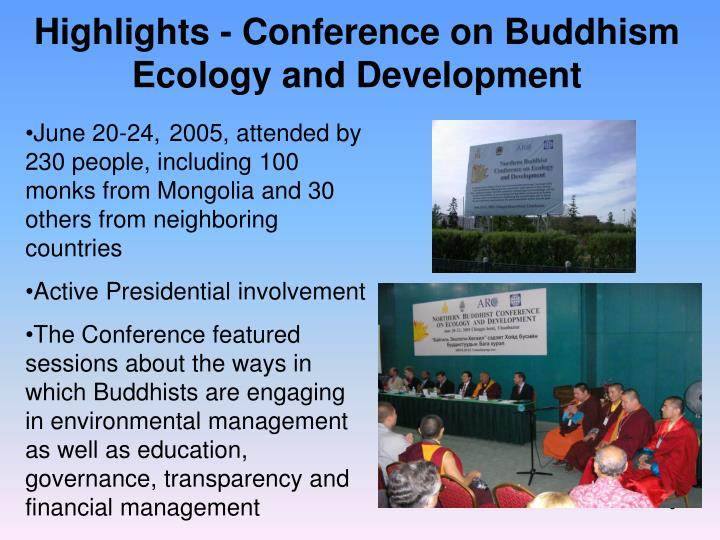 Highlights - Conference on Buddhism