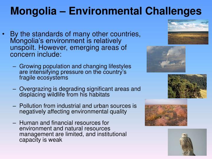 Mongolia – Environmental Challenges