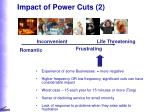 impact of power cuts 2