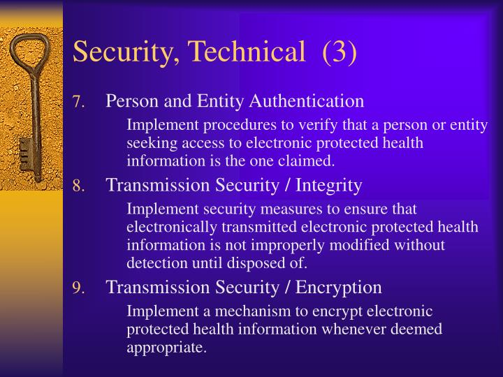 Security, Technical  (3)