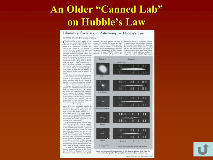 """An Older """"Canned Lab"""""""