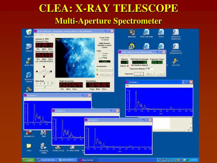 CLEA: X-RAY TELESCOPE