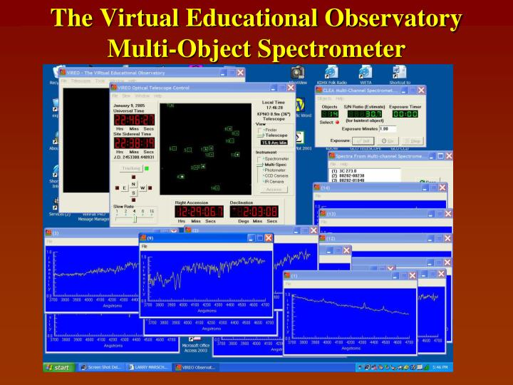 The Virtual Educational Observatory