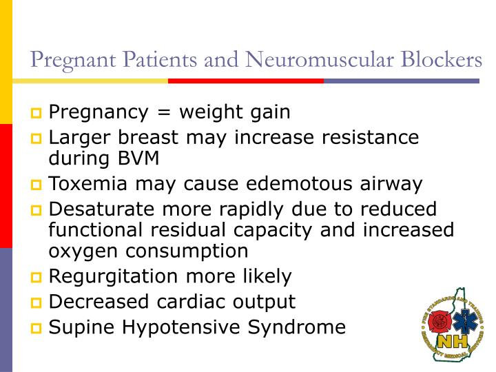 Pregnant Patients and Neuromuscular Blockers