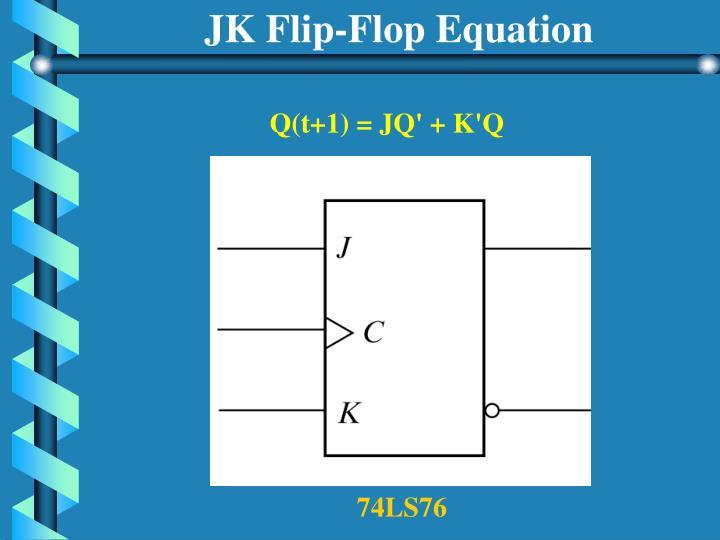 JK Flip-Flop Equation