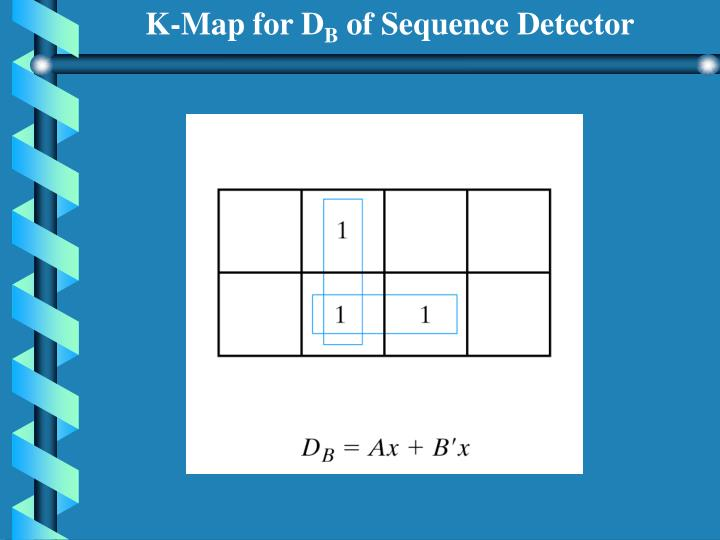 K-Map for D