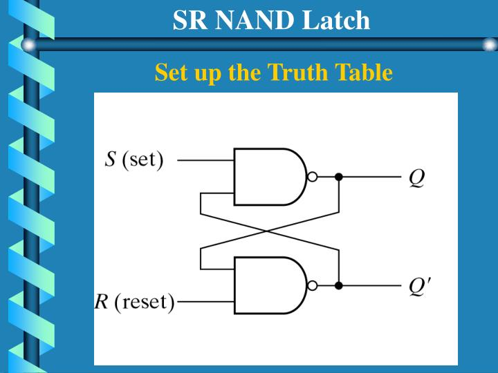 SR NAND Latch
