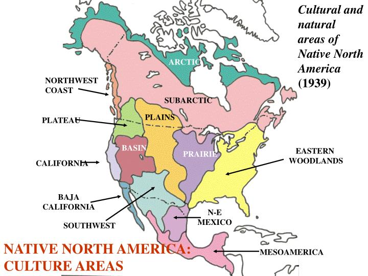 Cultural and natural areas of Native North America