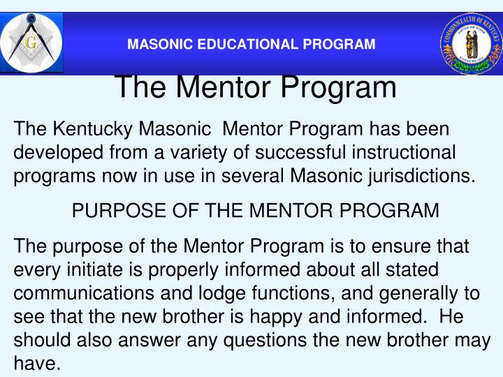 The Mentor Program