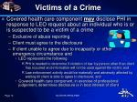 victims of a crime