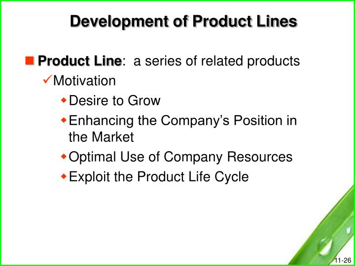 Development of Product Lines