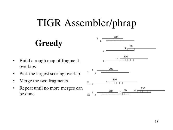 TIGR Assembler/phrap