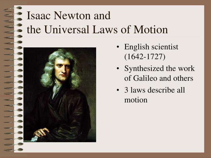 Isaac Newton and