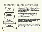 the tower of science in informatics