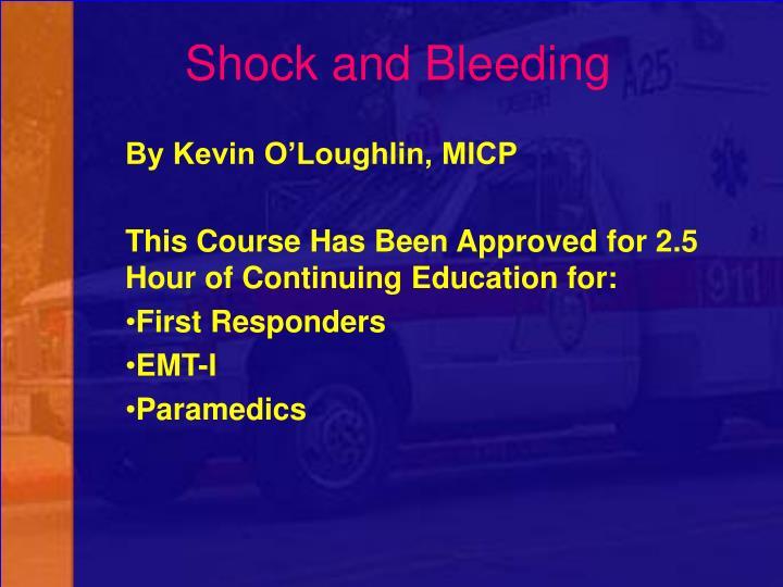 Shock and Bleeding