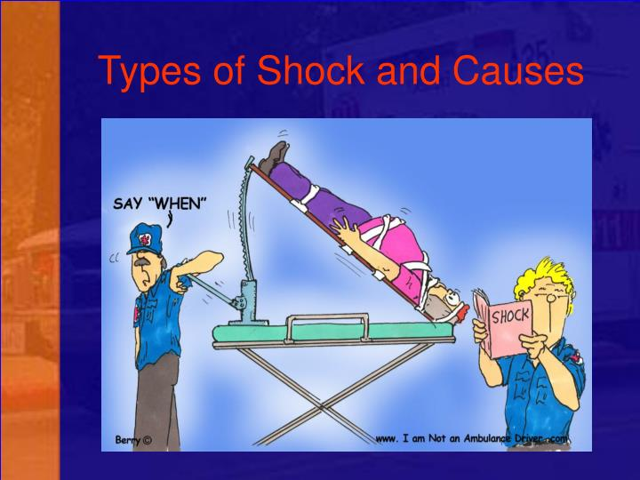 Types of Shock and Causes