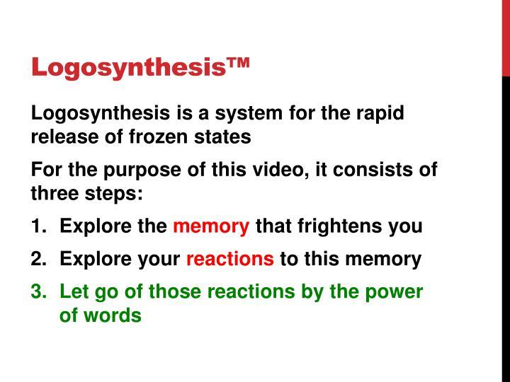 Logosynthesis™