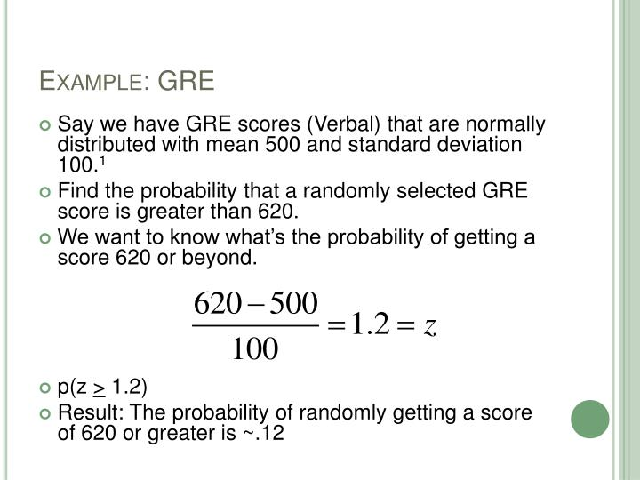 Example: GRE
