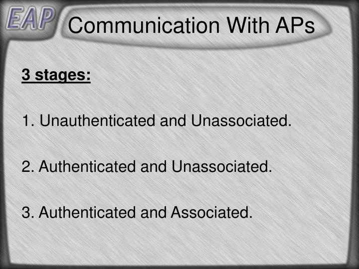 Communication With APs