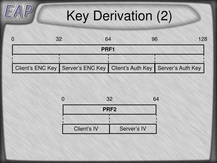 Key Derivation (2)