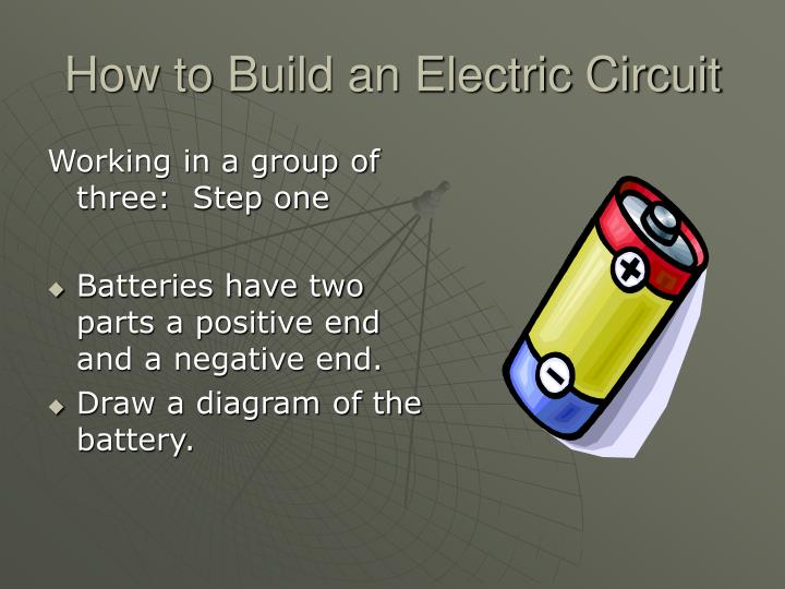 How to Build an Electric Circuit