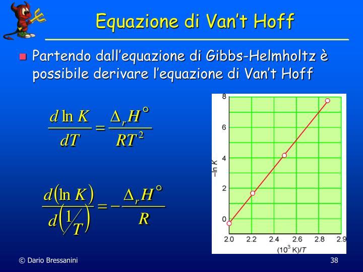 Equazione di Van't Hoff