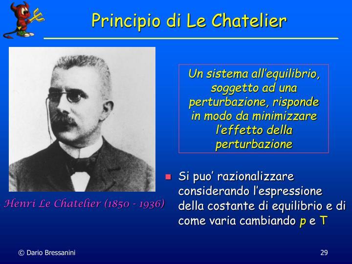 Henri Le Chatelier (1850 - 1936)