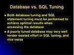 database vs sql tuning2