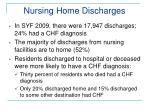 nursing home discharges