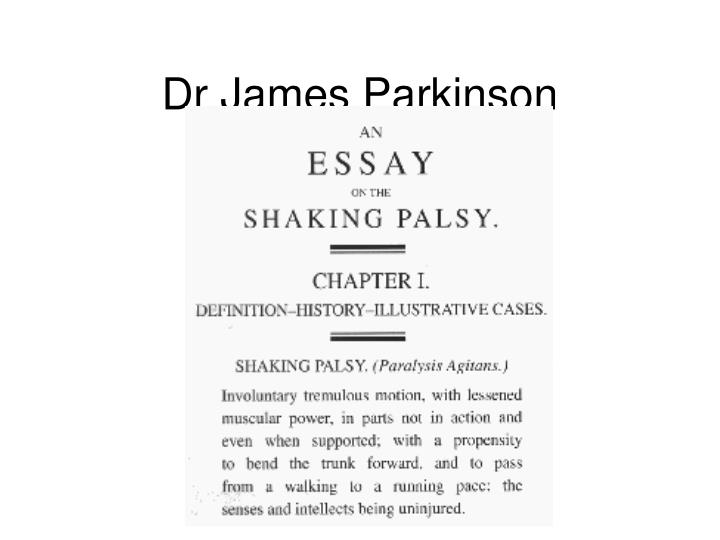 Dr James Parkinson