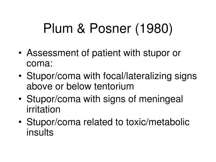 Plum & Posner (1980)