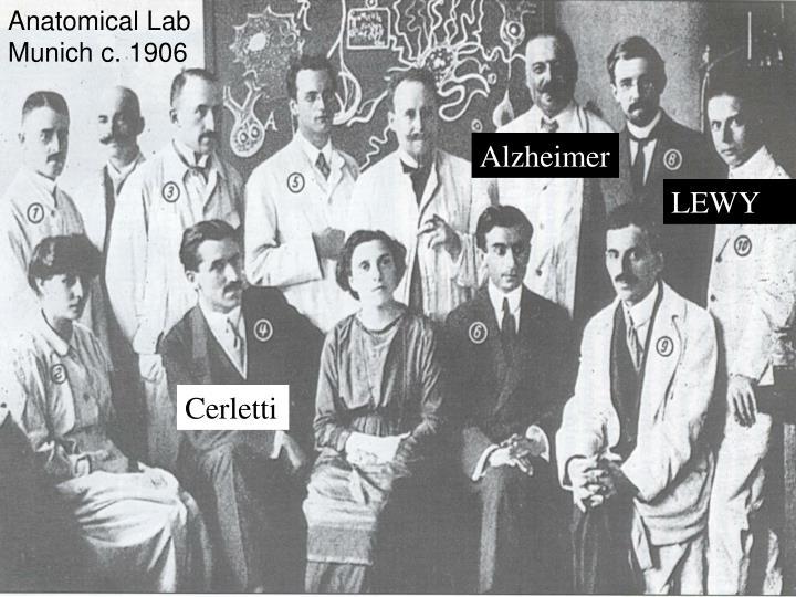Anatomical Lab Munich c. 1906
