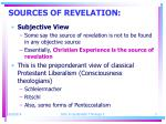 sources of revelation1