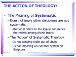 the action of theology