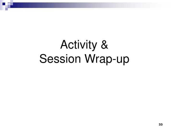 Activity &