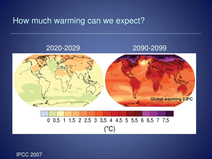 How much warming can we expect?