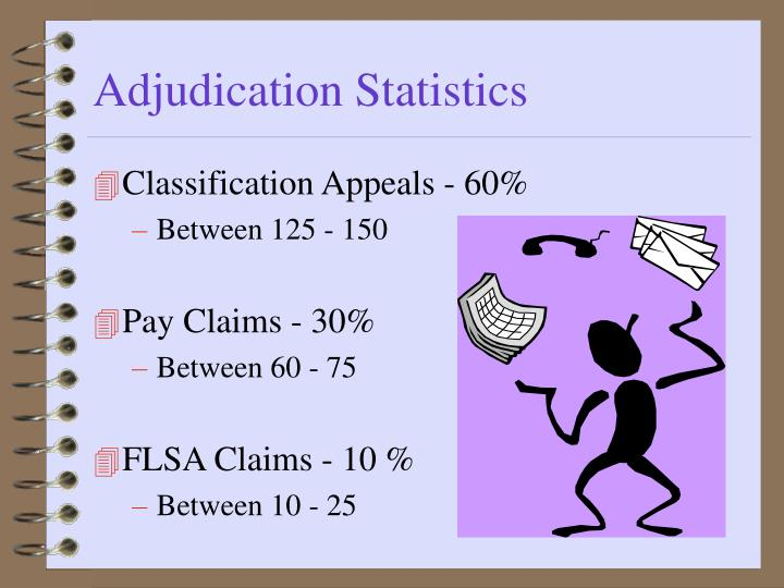 Adjudication Statistics