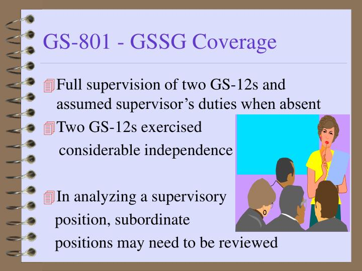 Full supervision of two GS-12s and assumed supervisor's duties when absent