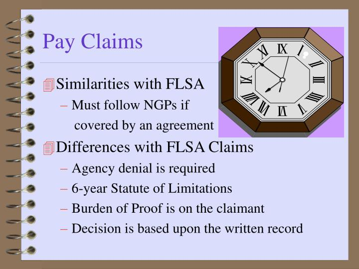 Pay Claims