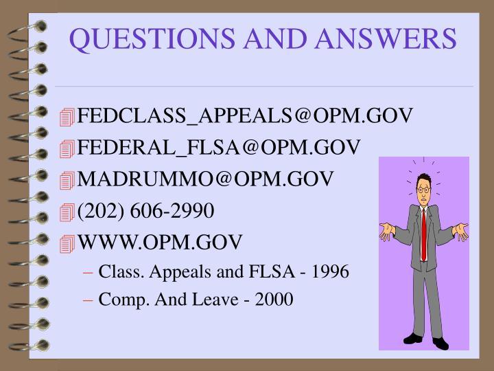 FEDCLASS_APPEALS@OPM.GOV